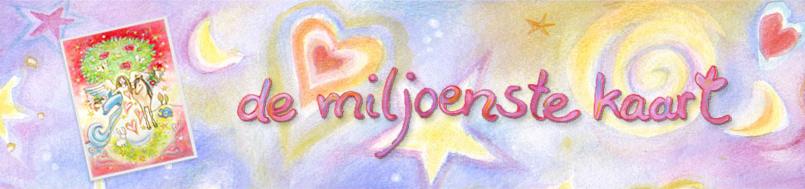 De Miljoenste Kaart Jubileum website