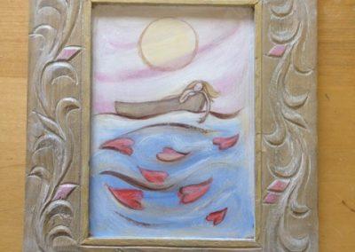 Zee met hartjes