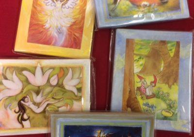 Mini schilderijtjes €7,50