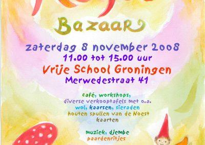 Herfst bazaar poster